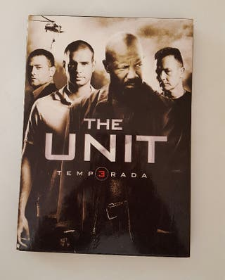 leti Dvd SERIE THE UNIT TEMPORADA 3