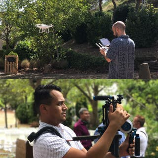 Video para bodas 4K drones, Fotografía