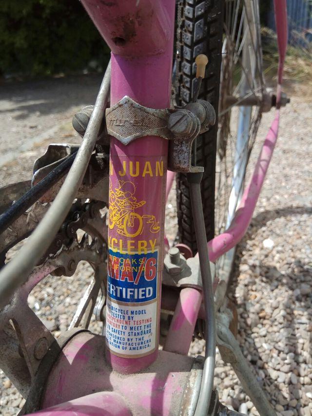 Bicicleta Ardley Columbia antigua ,retro , vintage