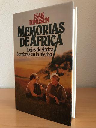 Libro Memorias de África Tapa