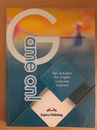 Libro Game on 150 Juegos para aprender inglés NUEVO