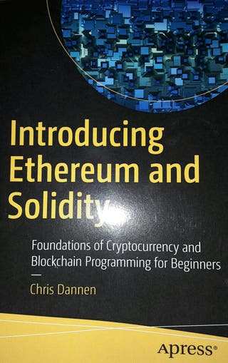 Introducing Ethereum and solidity - chris dannen.