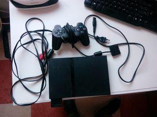 Consola ps2 slim ultimos modelos, muy cuidada