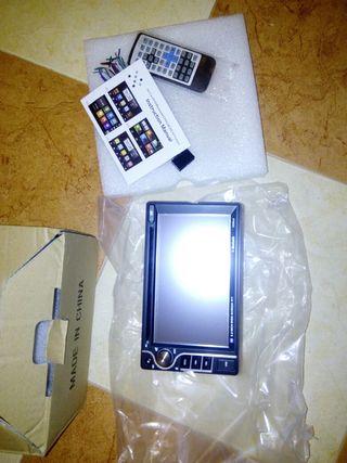 pantalla coche a estrenar, dvd usb sd Bluetooth