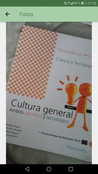 Libro cultura general.