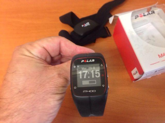 Reloj pulsometro multiactividad