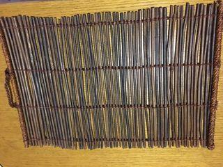 4 Manteles individuales madera
