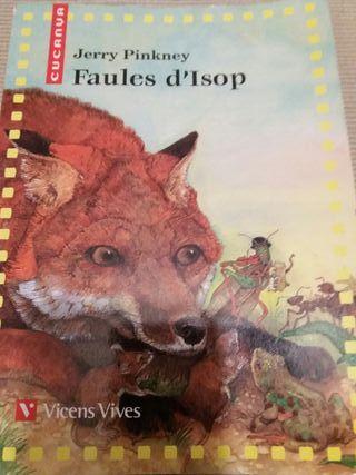 libro de lectura FAULES D'ISOP