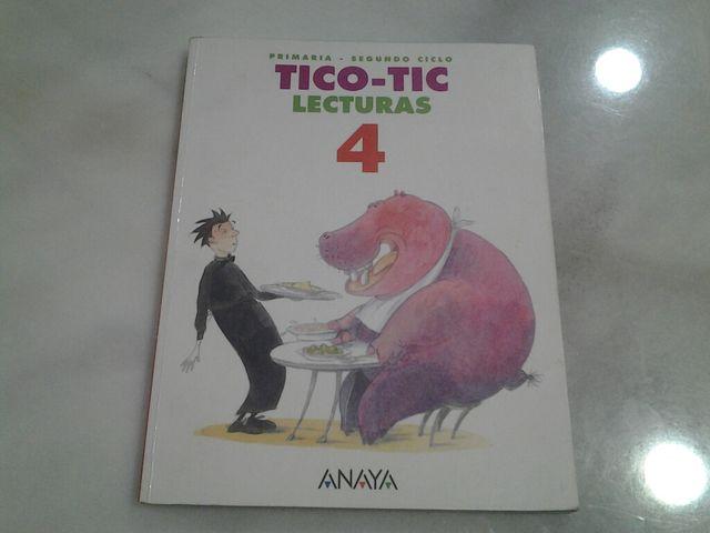 Libro Tico-Tic lecturas cuarto de primaria Anaya de segunda mano por ...