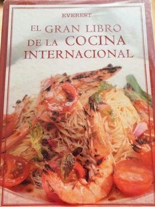 Libro cocina internacional