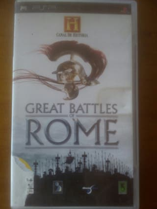 GREAT BATTLES OF ROMA PSP