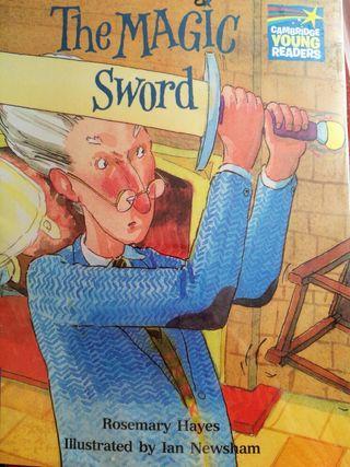 Libro en inglés The magic sword