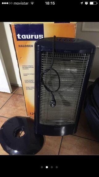 Radiador halogeno