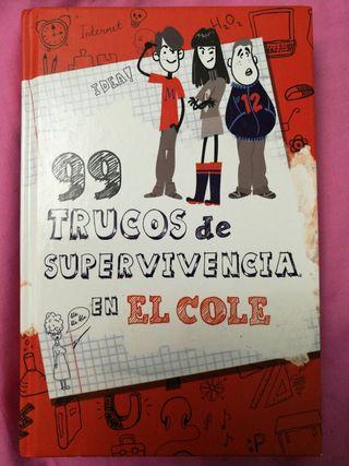Libro 99 trucos de supervivencia en el cole