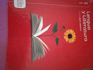 libro de texto Lengua 1°ESO
