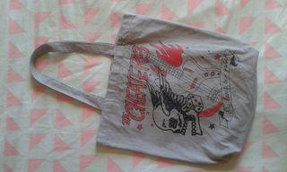 Bolso shopper rock & punk