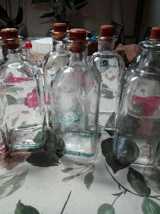 botellas Frascas de cristal 15€