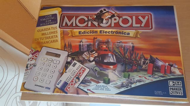 Monopoly Electronico Juego De Mesa De Segunda Mano Por 25 En Elda