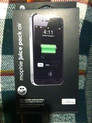 funda-bateria para iphone 4