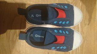 Zapatillas varias de tela niño