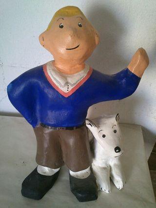 Muñeco Tin tin antiguo