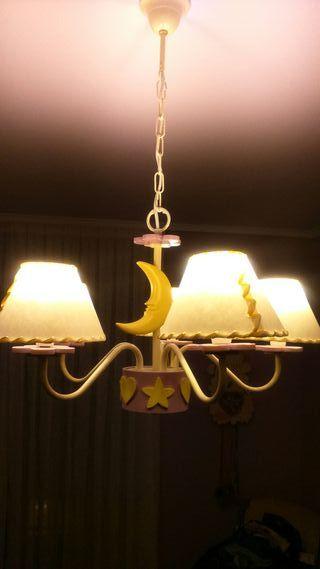 Lámpara para cuarto infantil