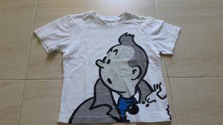 16f97f13 Tintin Tintin Camiseta 2 2 Años Camiseta Camiseta Años Original Original  dxwFwYqar