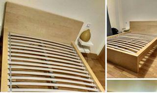 Estructura cama Malm Ikea 140x200