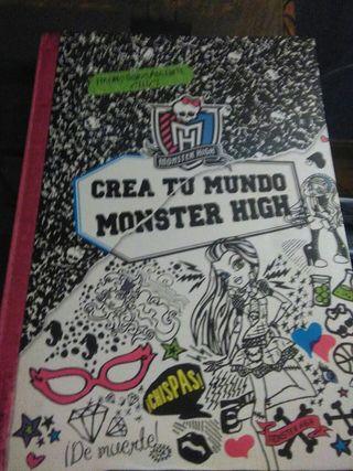 crea tu mundo monster high