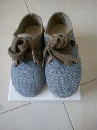 zapatos lino niño