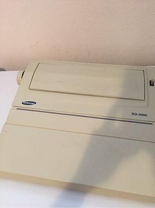 Maquina escribir electronica