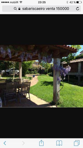 Casa sabaris baiona, pontevedra, chalet, Jardin, ap