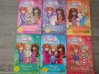 Pack de libros Secret Kingdom en Ingles.