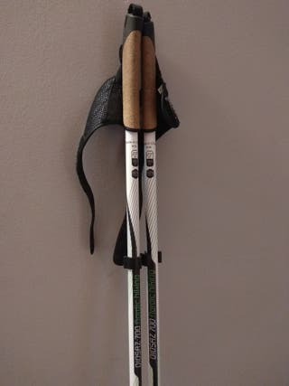 Bastones Nordic Walking Carbono talla 120