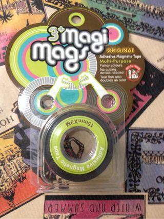 Cinta adhesiva magnética
