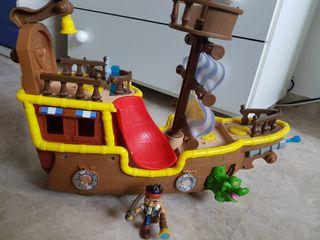 Barco de Jake y los piratas