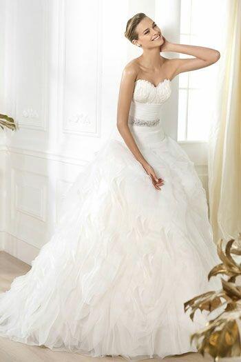 vestido de novia pronovias de segunda mano por 285 € en barcelona en