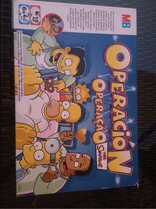 Juego operacion Simpsons