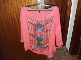 Camiseta semimanga