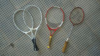 RAQUETAS Badminton y tenis