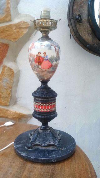 pie de lampara vintage