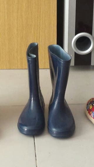 botas lluvia talla 33