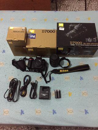Nikon D7000 -18-105 VR-Kit