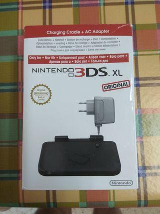 base cargador Nintendo 3DS XL