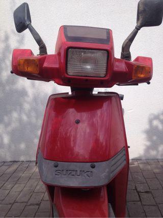 Suzuki CP50 - despiece
