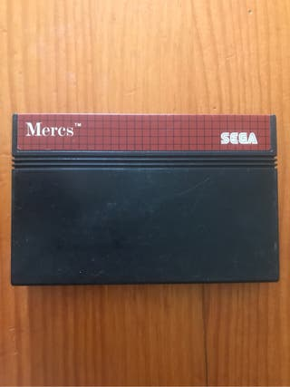 Juego Master System II : MERCS