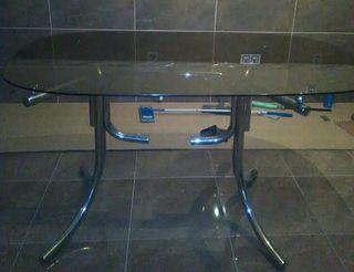 vendo mesa de cristal