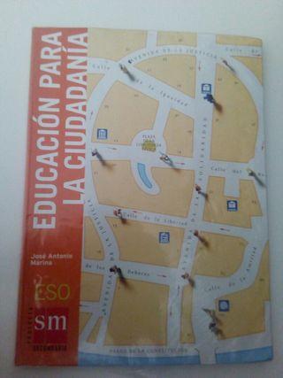 Libro de Educacion para la ciudadania 3ESO