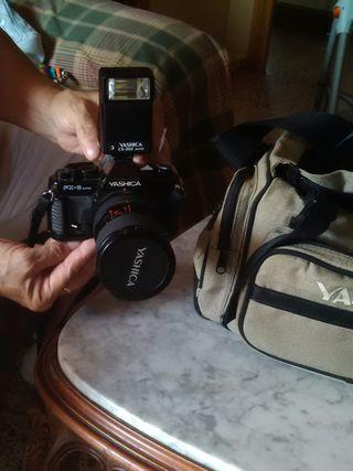 camara de fotos reflex yashica