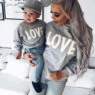 Sudadera madre e hijos